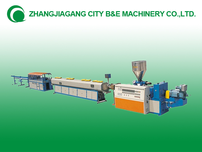 PVC pipe threading double the production line